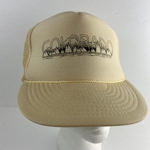 Colorado Mountains Snapback Hat Mesh by Otto